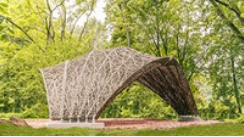 Model for sustainable construction using natural fibers