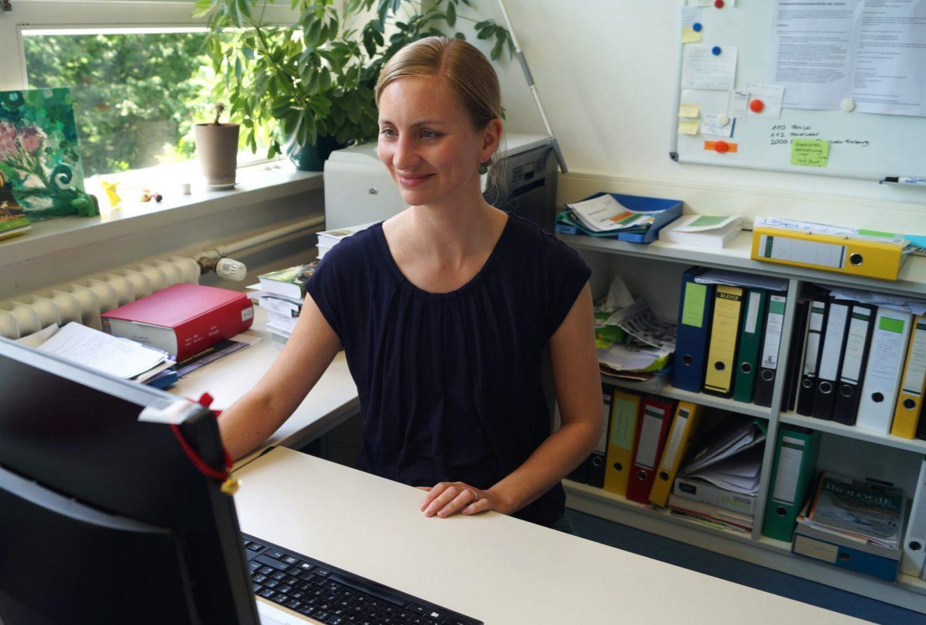 Verleihung des Innovationspreises Lehre an Dr. Anne Liefländer